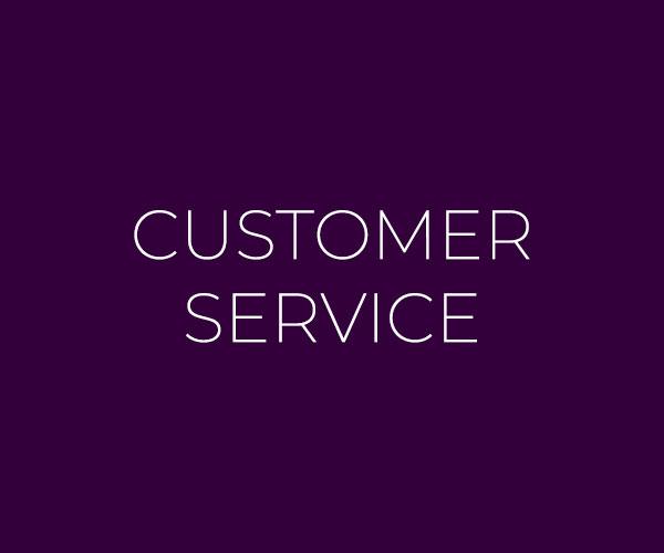 customer service button