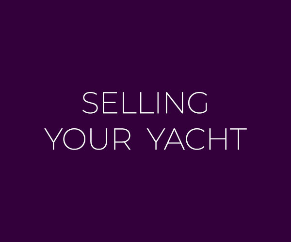 Selling Your Yacht button